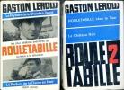 Rouletabille en 4 volumes . LEROUX Gaston