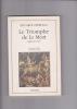 LE TRIOMPHE DE LA MORT Ligne de terre Traduit de l'italien par Thierry Loisel. REBULLA Eduardo