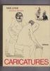 CARICATURES  . LEVINE David présenté par Jean Duché