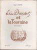 Léon Daudet et la Touraine Rencontres  Avec quatre fac-similé d'autographes . JOSEPH Roger