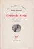 GERTRUDE STEIN Traduit de l'anglais par Nicole Balbir  Avant-propos de Raymond Queneau. SUTHERLAND Donald
