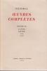 OEUVRES COMPLETES Texte établi par Georges EUDES . STENDHAL