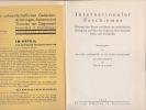 INTERNATIONALER FASCHISMUS . LANDAUER - HONEGGER - BONN