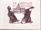 IX SIECLES D'HISTOIRE Abbaye aux Dames SAINTES.
