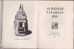 Almanach Vivarois 1935 SOUS LE SIGNE DE SEPTEMBRE.