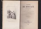 CONTES Traduction nouvelle précédée d'une notice sur la vie et les ouvrages de B. par Ed. Rastoin-Bremond. BOCCACE