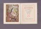 Lettres d'amour de la religieuse portugaise LETTRES écrites au comte de Chamilly . ALCAFORADO MARIANNA
