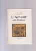 L'AMOUR EN FRANCE. BERRY ANDRE
