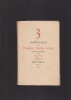 Trois conférences de Federico Garcia Lorca traduites de l'espagnol par JEAN VIET . GARCIA LORCA FEDERICO