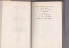 OEUVRES Texte choisi , préfacé et annoté par Jean Richer. NERVAL Gérard de