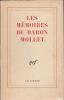 MEMOIRES DU BARON MOLLET Préface de Raymond Queneau. MOLLET Baron