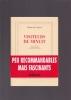 VISITEURS DE MINUIT Choix, préface et bibliographie par Francis Lacassin. MAC ORLAN Pierre
