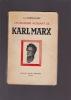 L'Humanisme agissant de KARL MARX. SOMERHAUSEN Luc