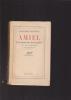 AMIEL Une étude sur la timidité Avec dix illustrations Traduit de l'espagnol par Louis PARROT. MARANON Gregorio