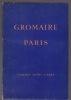 GROMAIRE Paris Dix peintures, dix aquarelles.  (GROMAIRE) ROY Claude