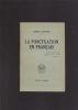 LA PONCTUATION EN FRANCAIS. SENSINE Henri