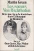 Les soeurs Von Richthofen  Deux ancêtres du féminisme dans l'Allemagne de Bismarck face à Otto Gross, Max Weber et D.H. Lawrence. GREEN Martin