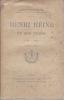 HENRI HEINE et son temps 1799-1827. DUCROS Louis