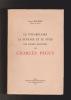 Le vocabulaire la syntaxe et le style des poèmes réguliers de CHARLES PEGUY. BARBIER Joseph