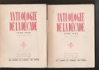ANTHOLOGIE DE LA DECADE. 1930-1940. COLLECTIF