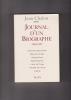 JOURNAL D'UN BIOGRAPHE 1984-1997. CHALON Jean