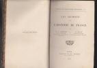Les Archives de L'HISTOIRE DE FRANCE. LANGLOIS Ch. V. & STEIN H.