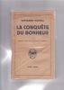 LA CONQUETE DU BONHEUR Traduit de l'anglais par N. Rabinot. RUSSELL Bertrand
