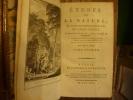 Etudes de la nature. Voeux d'un solitaire. La chaumière indienne.. Bernardin de Saint-Pierre (Jacques-Henri), Moreau le Jeune (Frontispice dessiné ...