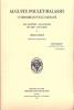 Auguste Poulet-Malassis, un imprimeur sur le Parnasse. Ses ancêtres - Ses auteurs - Ses amis - Ses écrits. Préface de Claude Pichois.. OBERLÉ ...