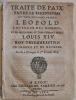 Traité de pais entre le Serenissime et très puissant prince LEOPOLD Empereur des Romains ; et le Serenissime et très-puissant prince Louis XIV Roy ...