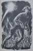 One of us. The story of John Reed in lithographs by Lynd Ward. Narrative by Granville Hicks.. WARD (Lynd) - HICKS (Granville).