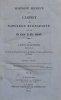 Histoire secrète du Cabinet de Napoléon Buonaparte, et de la Cour de St. Cloud. Seconde édition.. GOLDSMITH (Lewis)