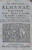 journalier, historique et prophétique de PIERRE L'ARRIVAY pour l'Année de Grace 1806.. [COLPORTAGE] - LE VÉRITABLE ALMANAC NOUVEAU,