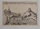 Crémieulx petite ville en Lionnois. Estampe originale. [ISÈRE - CRÉMIEUX] - CHASTILLON (Claude).