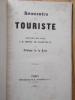 -PRECIS HISTORIQUE SUR LE CHATEAU DE PIERREFONDS.+ SOUVENIRS D'UN TOURISTE ,Lettres en vers à M.Henry de Lacretelle par Adolphe de La Tour. . ...