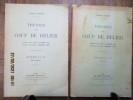 Théorie du coup de bélier. Traduit par Daniel Gaden. Préface de René Neeser.. ALLIEVI (Lorenzo)