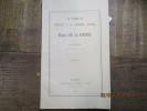 La famille, lenfance et la première jeunesse du marquis de La Fayette. . DONIOL (Henri)