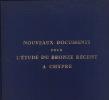 Nouveaux Documents pour l' Etude du Bronze Récent à Chypre. Etudes Chypriotes, III.. Karageorghis, Vassos
