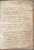 Livres de compte des métairies du  domaine de Coueilles (Languedoc, Haute-Garonne). Descriptif du procès ayant opposé le Seigneur de Saint Pé au sieur ...