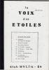 La Voix des Etoiles. N° 10. Avril-Mai-Juin 1984.. Collectif (Club Hyleg 84).