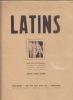 Latins. Bulletin Bi-Mensuel du Centre de Propagande d'Action Latine et d'Union Méditerranéenne (P.A.L.U.M.).. Collectif (François Mazelié, Clément ...