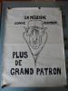 """AFFICHE ORIGINALE - MAI 68 - """"EN MÉDECINE COMME PARTOUT PLUS DE GRAND PATRON"""". X"""