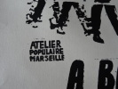 """AFFICHE ORIGINALE - MAI 68 - """"LE RETOUR DES """"DARLAN"""" SUR LES QUAIS"""". X"""