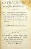 Cathéchisme français, républicain ; enrichi de la Déclaration de l'homme, et de Maximes de Morale républicaine, propres à l'Education des Enfans de ...