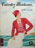 """Maquette de la couverture du magazine """"Tricotez Madame Le fil enchanté N°6"""".."""