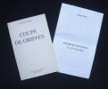 Coups de Griffes - . MAYA (Tristan) -