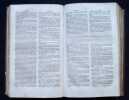 Dictionnaire des termes de médecine, chirurgie, art vétérinaire, pharmacie, histoire naturelle, botanique, physique, chimie, etc.. BEGUIN ...