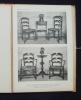Le mobilier bourguignon (ensemble et détails) -. JEANTON (Gabriel) -