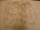 Recueil de 15 cartes militaires de la guerre de 1870 -. ERHARD (Georges) - (GUERRE DE 1870) - (Siège de Paris) -