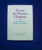 Poésie de Maurice Chappaz - Tome III : Office des morts - Tendres campagnes - . CHAPPAZ (Maurice) -